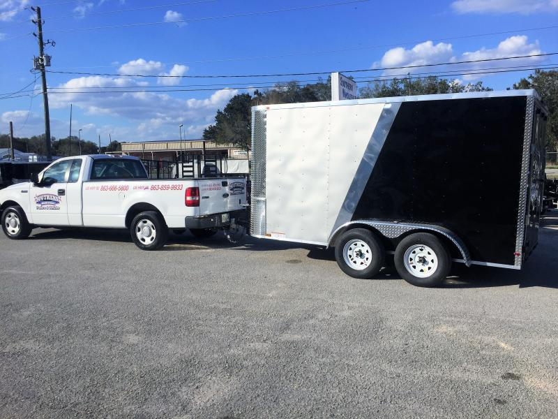 2017 Arising 7x12 Enclosed Cargo Trailer