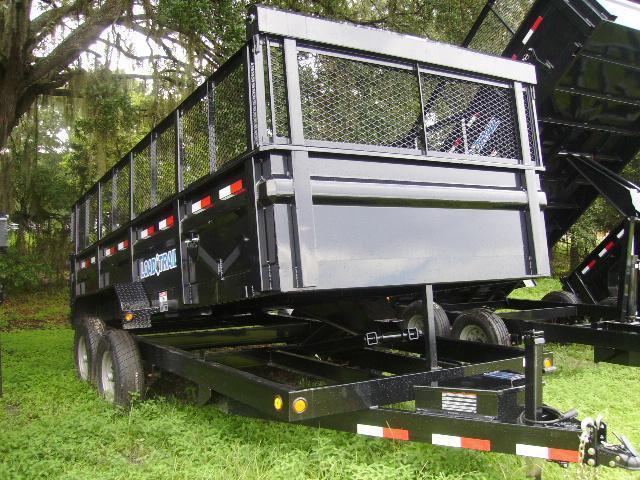 7x16 Load Trail Trailers Tandem Axle Dump Trailers