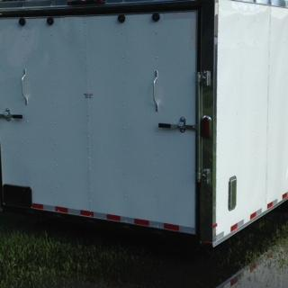 8.5x24 Arising Trailers Enclosed Car Hauler Cargo Trailer