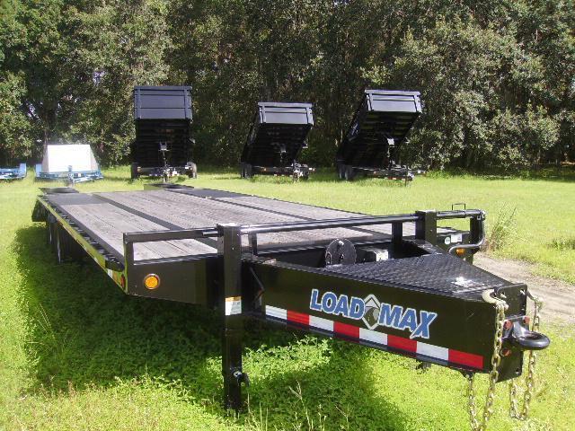8.5x25 Load Trail Trailers Deckover Equipment Trailer [22000# GVWR] Heavy Duty