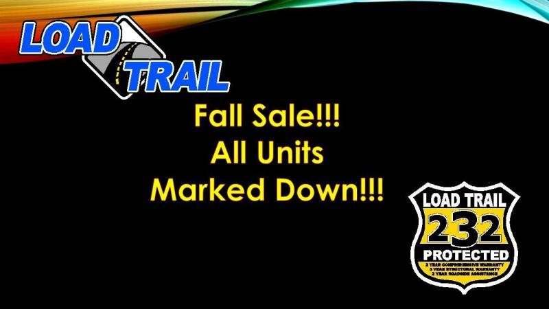 7x16 Load Trail Trailers ATV Tandem Axle Utility