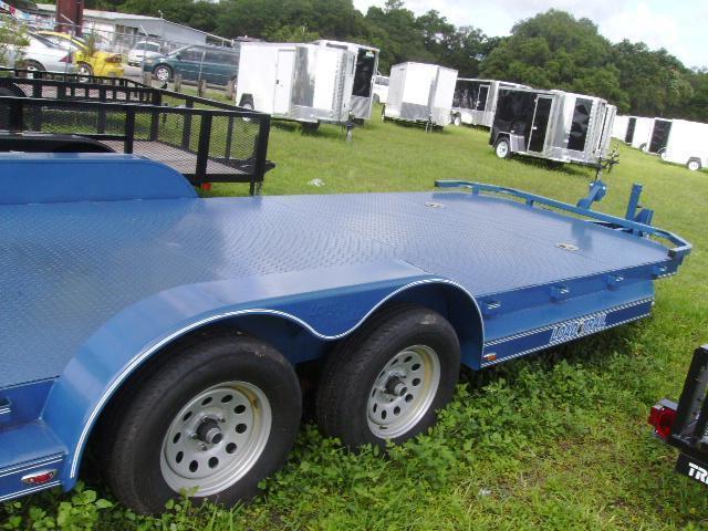 7x20 Load Trail Trailers CAR HAULER STEEL DECK Trailers