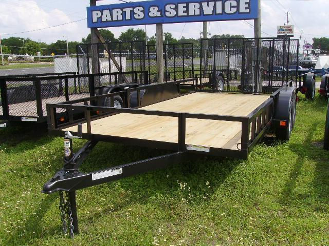 6x12 Triple Crown Trailers Open Utility Trailer