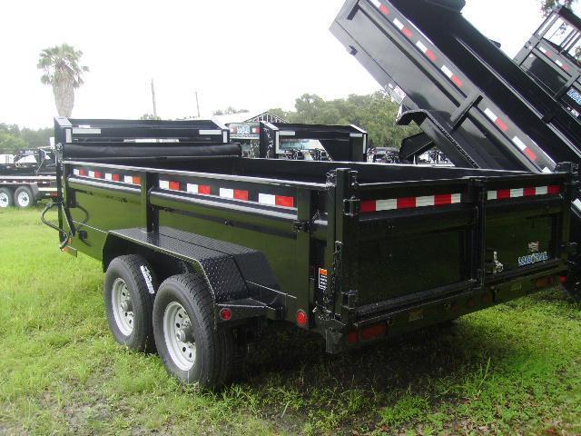 7x14 Load Trail Trailers Gooseneck  Dump Trailer