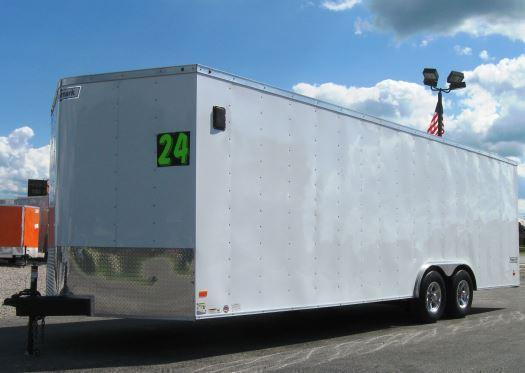 <b>MEGA BLOW-OUT SALE ONLY $7299 Save $1821 Off MSRP</b> 2017 24' Haulmark Passport Promo Car / Racing Trailer