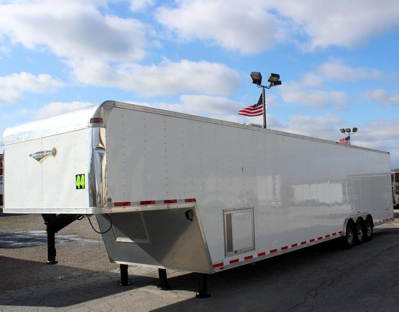 Pre-Owned 44' GN 2014 Millennium Silver with Onan Generator