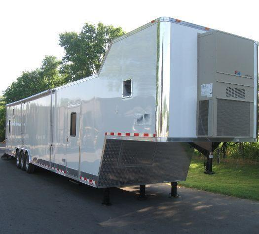 Millennium Trailers 44' Custom Gold Trailer