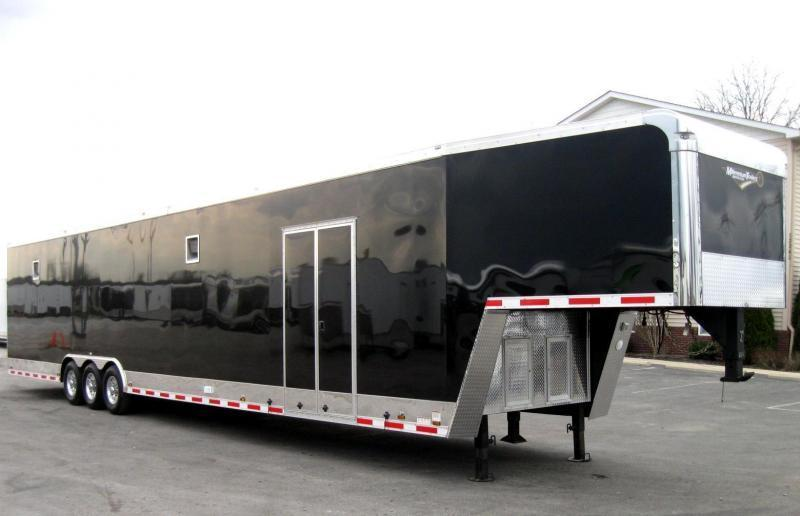 <b>Summer Savings</b> Dragster Pkg. 2020 48' Millennium Enclosed Gooseneck Race/Car Trailer