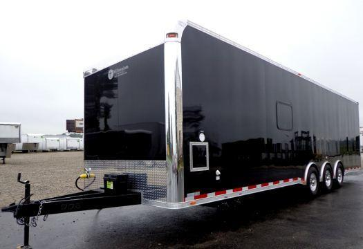 2018 32' Custom Millennium Trailers Toy Hauler Sleeps 6!
