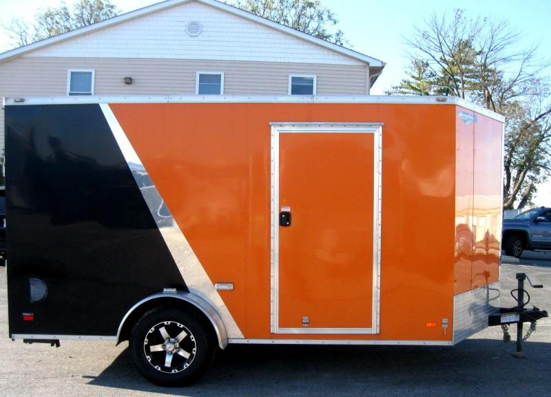 USED 2016 Scout Enclosed Cargo Trailer Screwless Exterior w/30