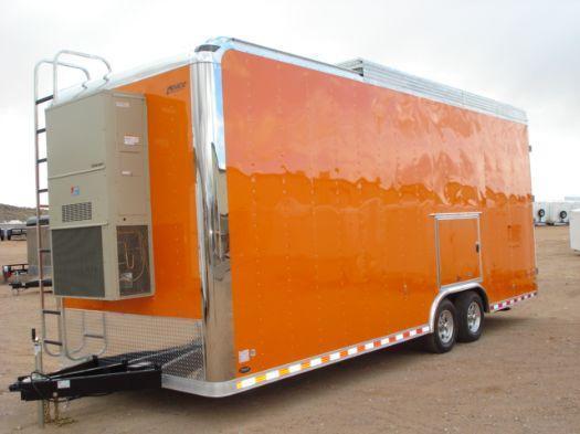 Millennium Trailers Custom Orange Tag Trailer