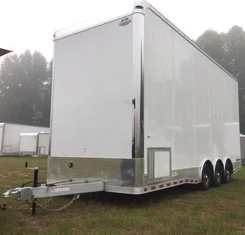 2018 24' Aluminum Millennium Stacker Trailer 14' Full Floor Lift 4