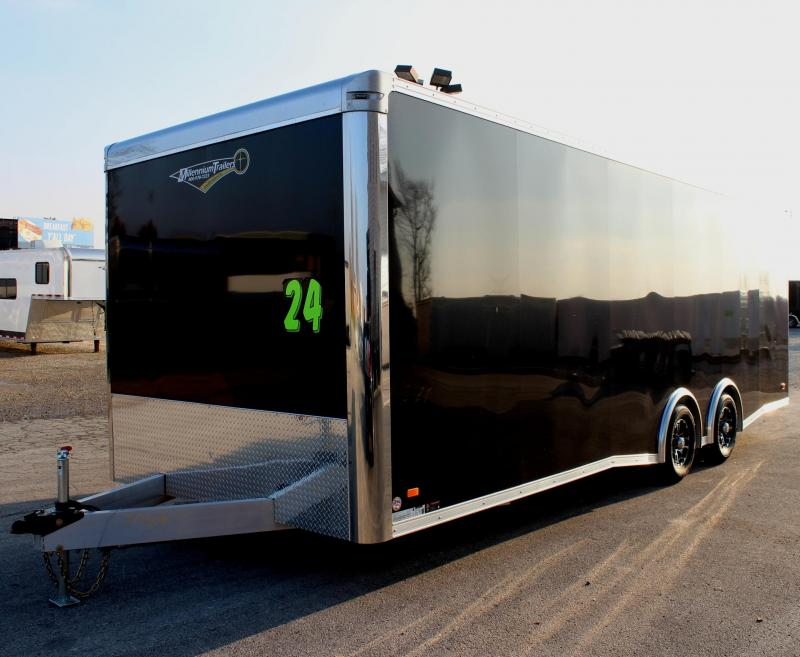 <b> YEAR-END BLOWOUT SPECIAL $2000 OFF/ NEW MODEL LOW PRICE ALL ALUMINUM YOU PAY $14999</b> 2019 Millennium Extreme Lite Car / Racing Trailer