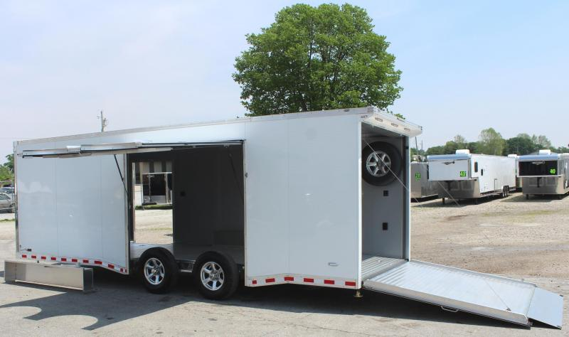 2019 24' All Aluminum with Escape Door w/Removable Wheel Box & Wing  & Extruded Floor