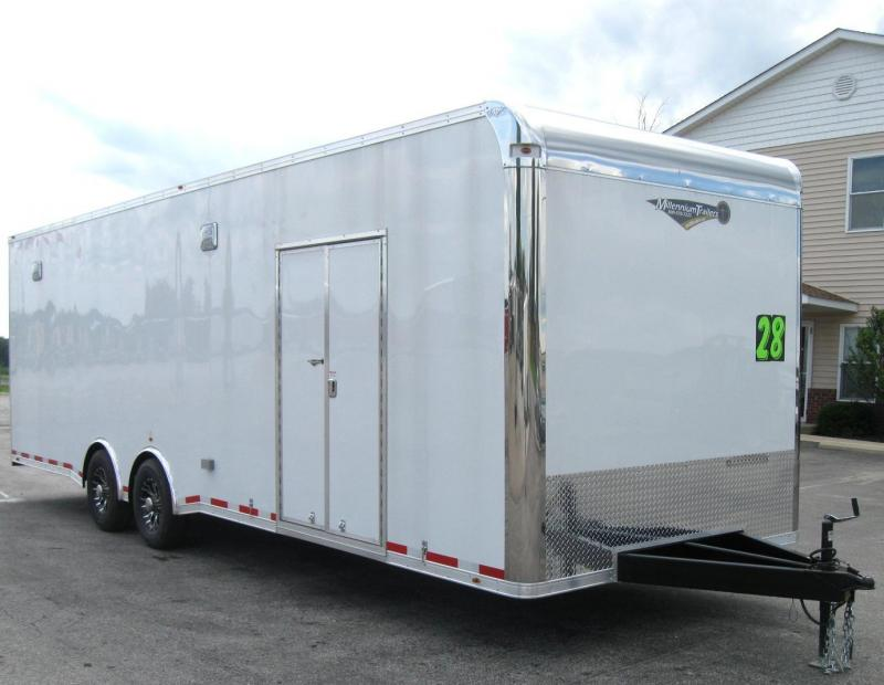 2017 28' NEW Millennium Platinum Trailer Escape Door 2/6k Axles