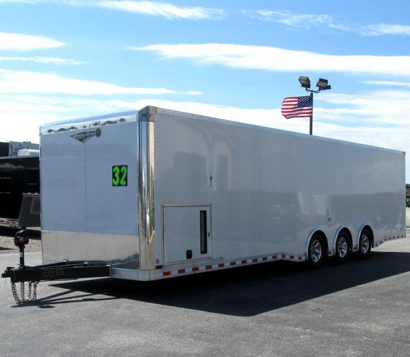 2018 32' NEW Millennium Extreme Race Trailer Spread Axles 16