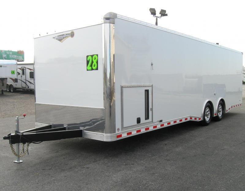 <b>Now Ready</b> 2019 28' NEW Millennium Extreme 6K Spread Axles/ Black Cabinets
