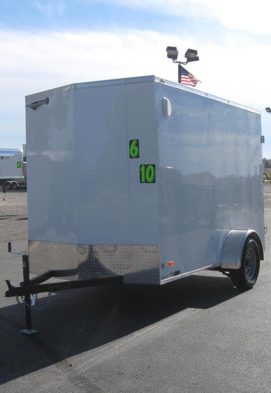 2017 6'x10' Scout Cargo Trailer with Double  Doors
