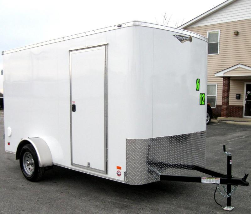 2018 6'x12' Scout Double Door Cargo with Plus Pkg & 6