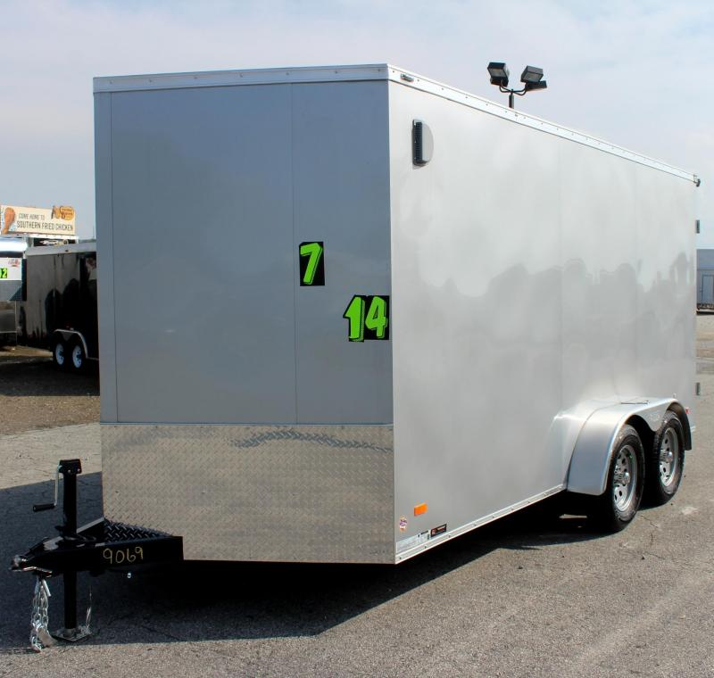 <b>Double Rear Doors</b> 2020 7'x14' Scout Cargo w/Plus Pkg. 6