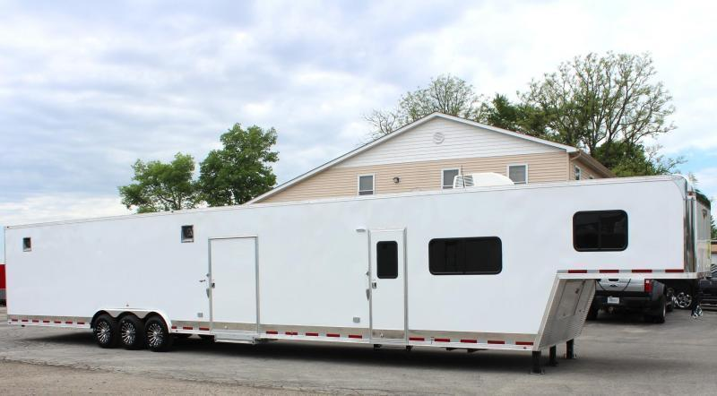 COMING SOON 2020 53'/14' RB (Rear Bath) Layout Millennium Trailers w/Living Quarters