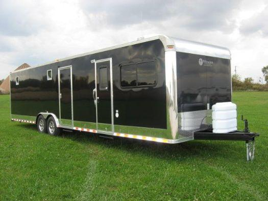 Bumper Pull Living Quarters Enclosed Trailers For Sale