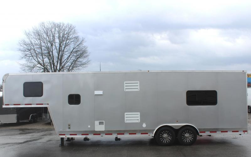 2020 Millennium Trailers Silver Car / Racing Trailer