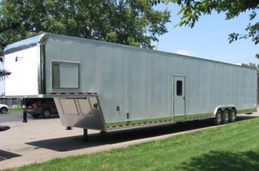 Millennium 50' Custom Diamond Trailer Snowmobile Workshop