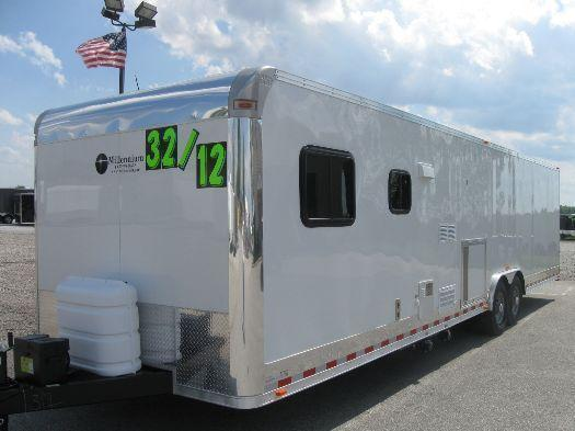 2017 32' Millennium 12'XE Living Quarters Enclosed Trailer