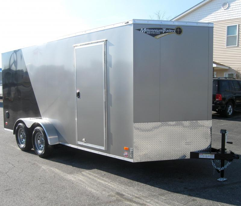 2018 7'x16' Scout Enclosed Cargo Trailer with Plus Pkg.