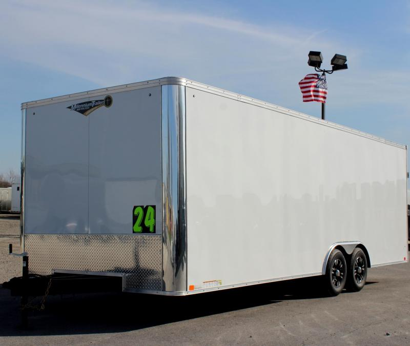 Pre-Owned 2018 24' United Trailers XLT Car / Racing Trailer