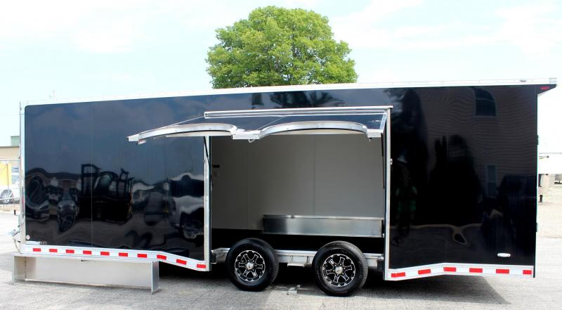 2019 24' Black Millennium Star All Aluminum w/Escape Door w/Removable Wheel Box & Wing