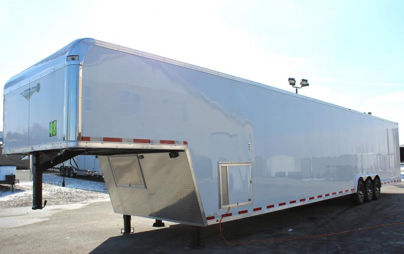<b>Now Available</b> 2019 THE NEW 48' Millennium Gooseneck Platinum Trailer Perfect Price/Perfect Options