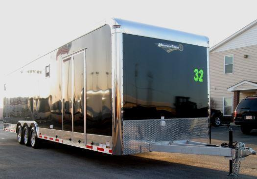 2018 32' ALL ALUMINUM Auto Master Car/Race Trailer