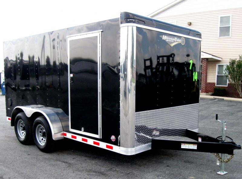 <b>MEGA BLOW-OUT SALE ONLY $5799  SAVE $1300 OFF MSRP</b> 2018 7'x14' Star 2/5200 Torsion Axles HD Ramp Door Free Upgrades