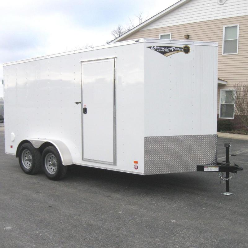 2018 7'x14' Scout Enclosed Cargo with Double Doors