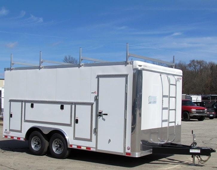 <b>Contractor's Dream Available 5/10/19 </b> 2020 Millennium Work Mate Enclosed Cargo Trailer