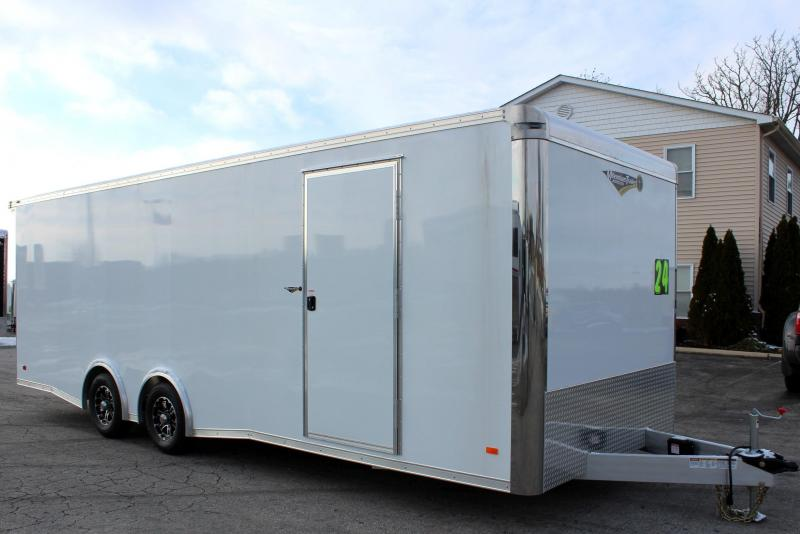 <b>Internet Special SAVE $2000 off  MSRP NOW $15999  ALL ALUMINUM </b> 2019 24' Millennium Extreme Lite Car Trailer