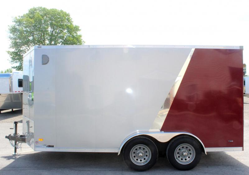 <b>LOOK! Now Available</b> 2020 7'x14' Scout Enclosed Cargo Trailer with Ramp Door