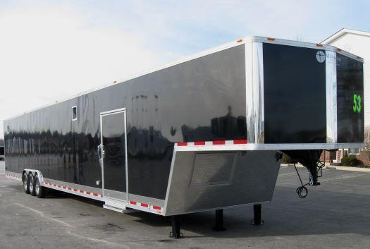 2017 53' Millennium Gold Enclosed CarTrailer