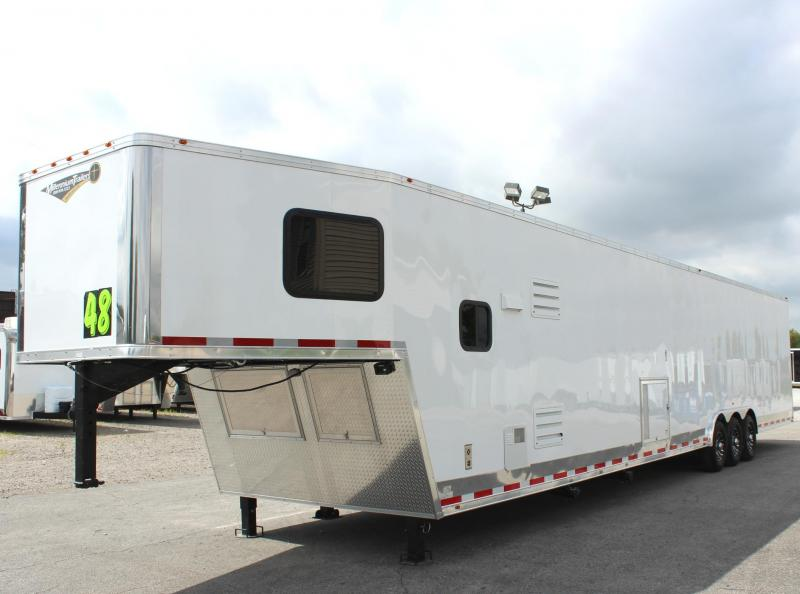 <b>Sale Pending</b>Dragster Pkg. w/Tapered Nose  2019 Millennium 48'/12 Sofa Living Quarters Trailer 28' Garage