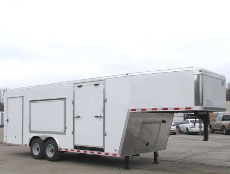 <b>CANCELED ORDER**REDUCED**</b> 2017 28' Millennium Star Gooseneck Enclosed Trailer