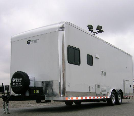 Custom 24' Command Center Trailer