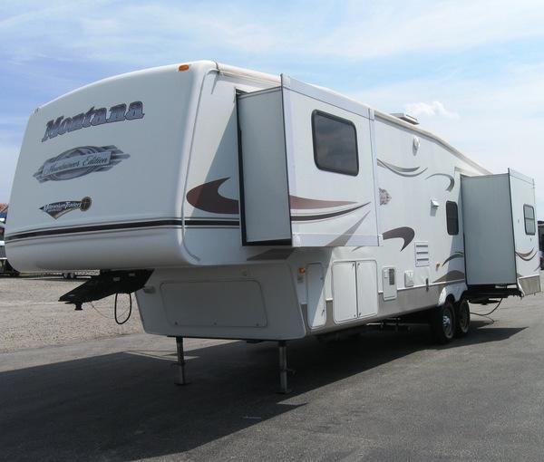 <b>BLOW-OUT SALE $18795 SAVE $4000</b> 2007 36' 5 th Wheel Keystone RV Mountaineer 3 Slides SALE PENDING