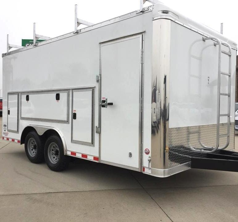<b>Contractor's Dream Trailer</b> 2019 Millenniums NEW Work Mate Enclosed Cargo Trailer Pick Your Options