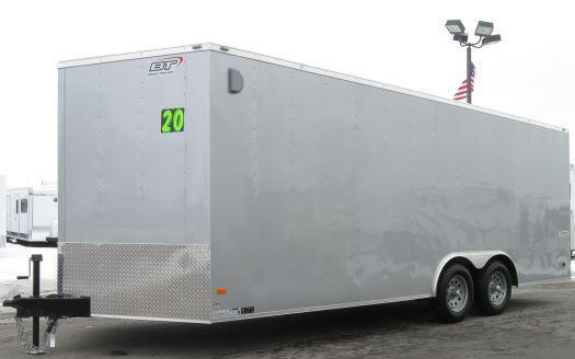 2018 20' Scout Enclosed Cargo Trailer