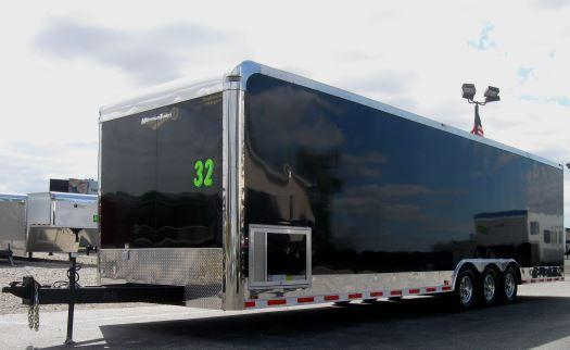 2017 32' Triaxle Enclosed Car/Race Trailer