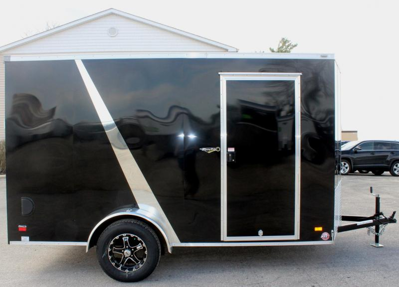 <b>Now Available Motorcycle Trailer</b> 2019 6'x12' Scout Enclosed Trailer 3 Packages & Free Options