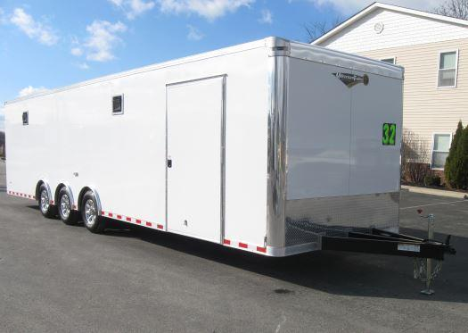 <b>BLOW-OUT SALE SAVE $4569 NOW $18599</b> 2017 32' Triaxle Millennium Limited Race Trailer