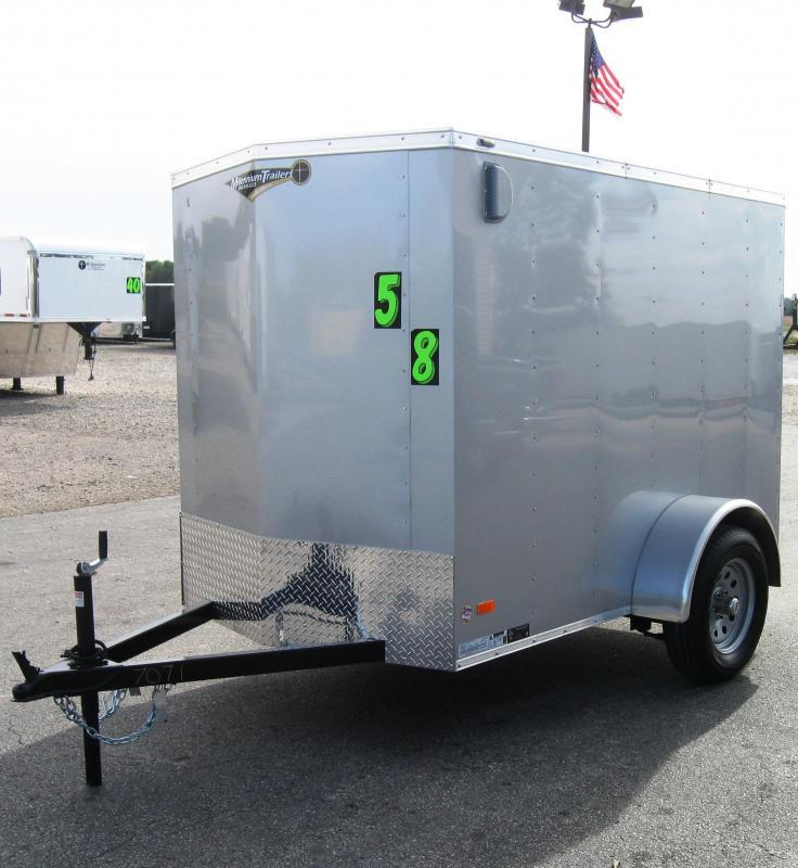 5'x8' Scout Cargo Trailer with Ramp Door 6